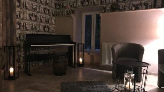 piano du bar Domaine de Vandenesse et Spa